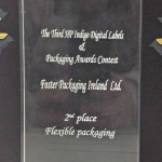 Second prize in the HP Indigo Digital Labels and Packaging Awards.
