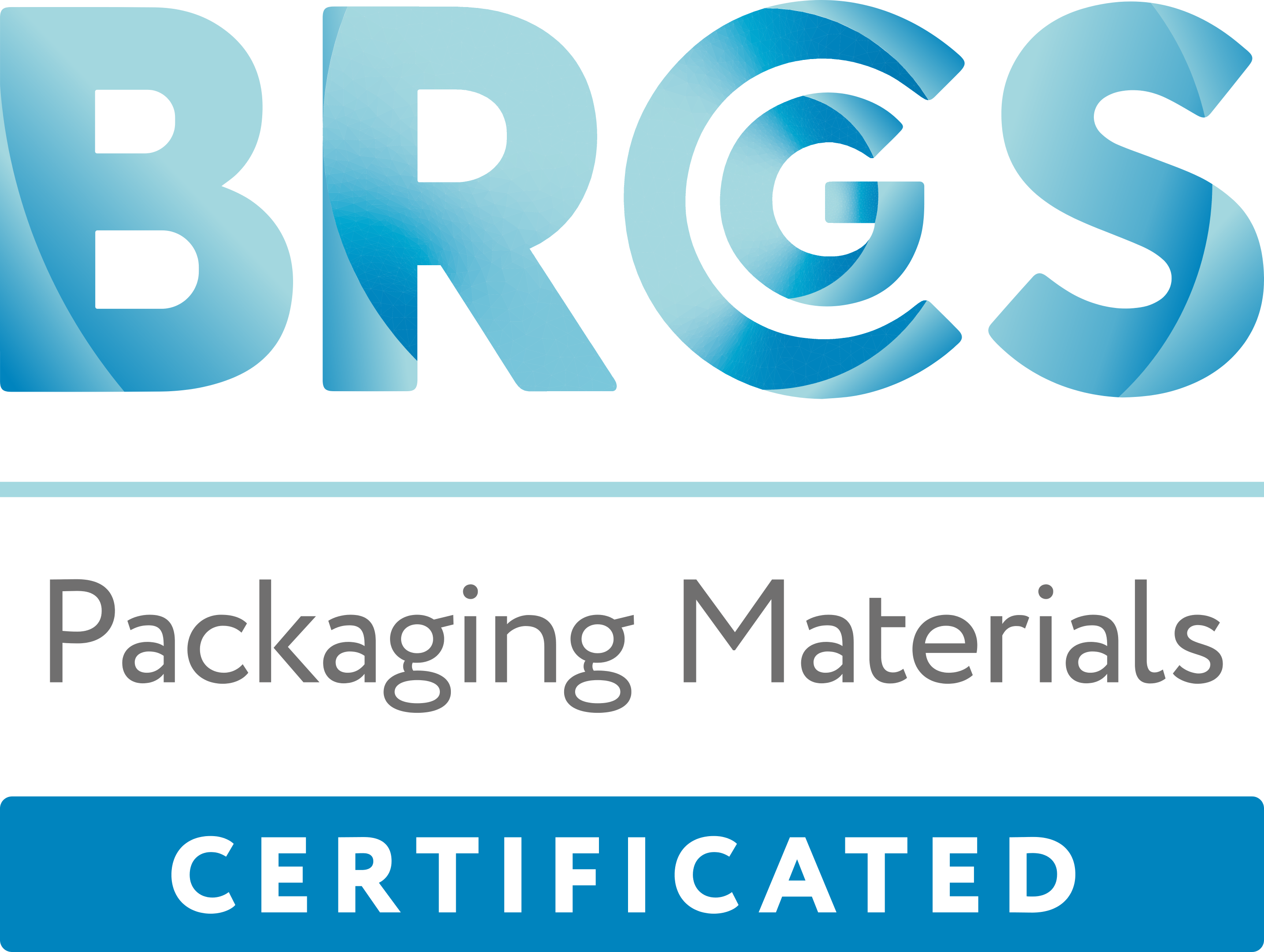BRCGS Packaging Materials Certification logo 2020