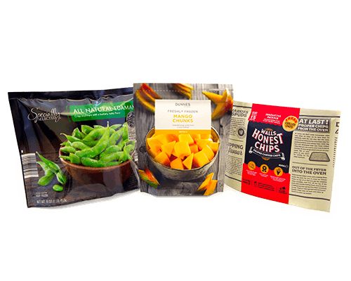 frozen food packaging options