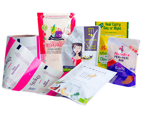 an image containing several of the packaging solutions foxpak offer