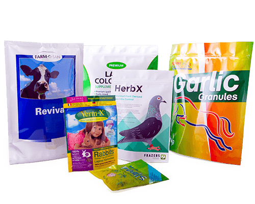 Veterinary packaging for pet food