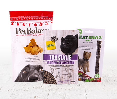 pet treats packaging