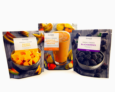 Sleek fruit packaging