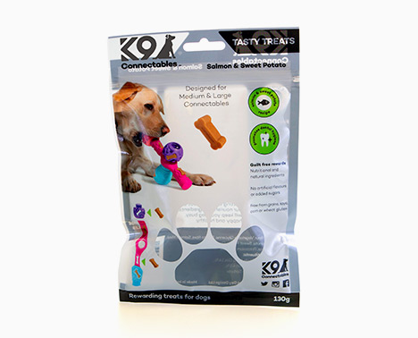Packaging design for K9 Dog Treats
