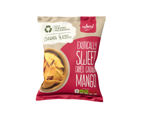Dried Mango Recyclable Paper Bag
