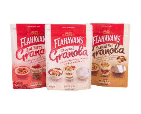 Flahavans Granola Pouch