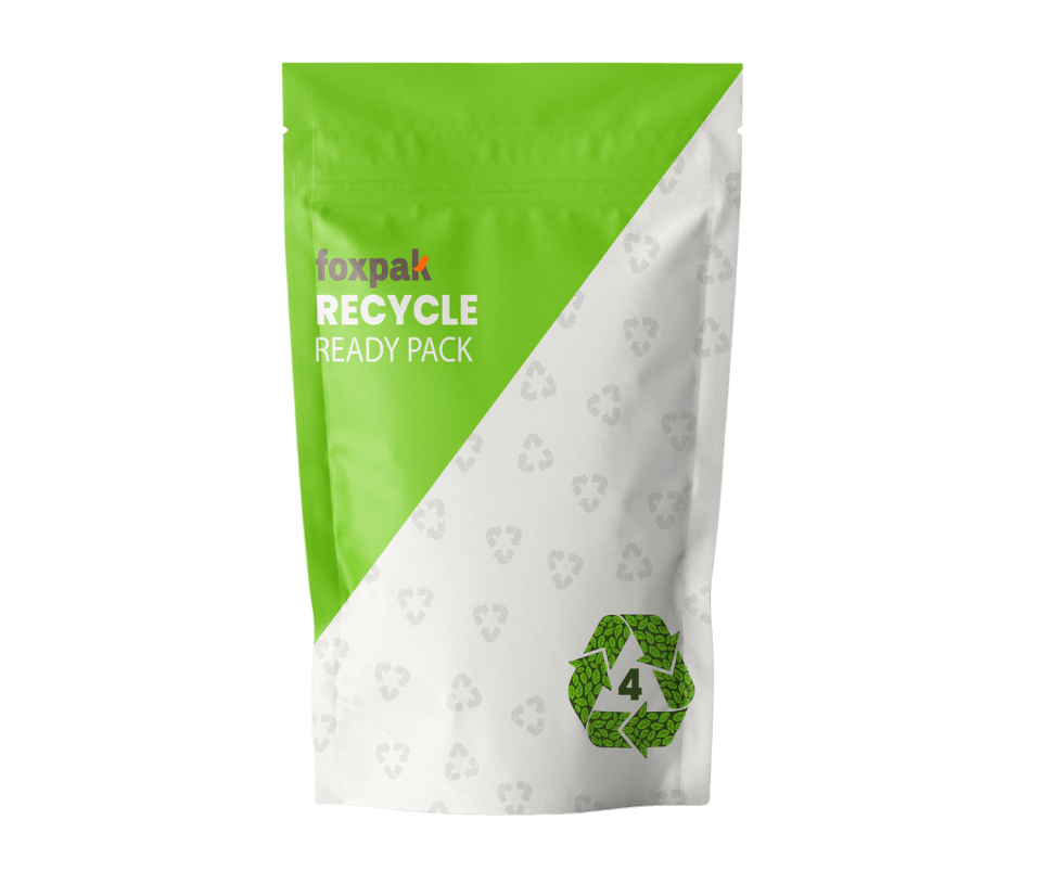 Recyclable LDPE Pouch Product Shot