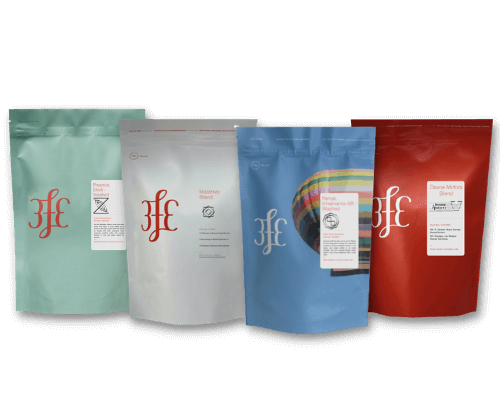 Case Study Image 3FE coffee pouch group