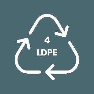 Recycling Symbol 4 LDPE